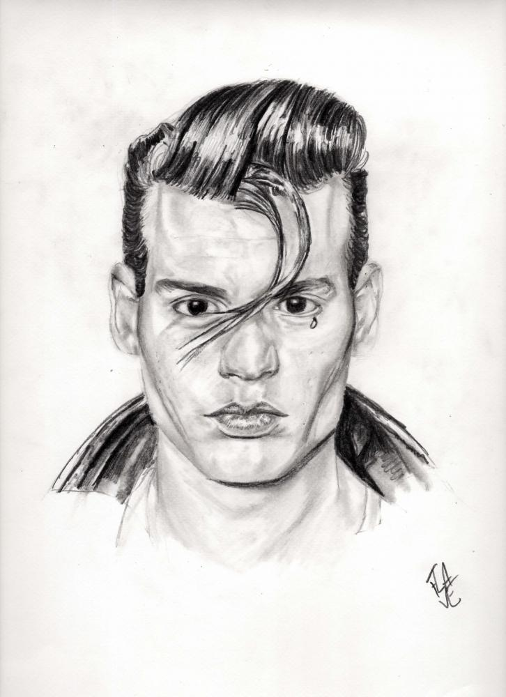 Johnny Depp by Flave